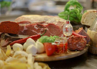 Spezialitäten im Restaurant La Piazzetta